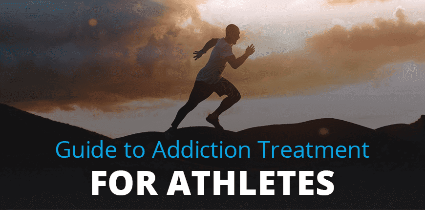 Image of a man running: Guide to Addiction Treatment for Athletes